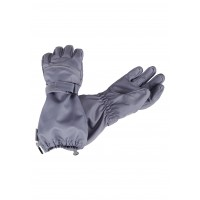 Lassie woven gloves gray 727724-9220