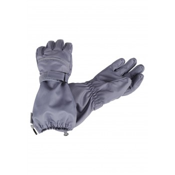 Lassie woven gloves gray 727724-9220