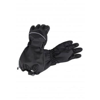 Lassie woven gloves black 727724-9990