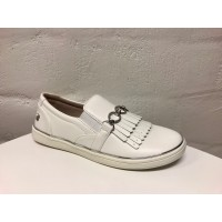 MAYORAL white Fringe trainers for girl 45009-42