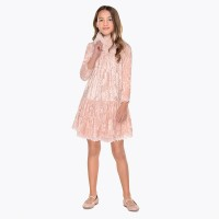 MAYORAL Velvet Dress for Girls 7932-57