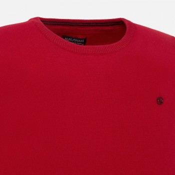 MAYORAL basic cotton sweater red 354-40