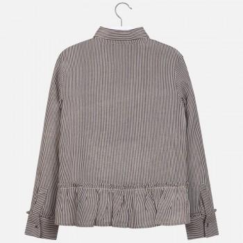 MAYORAL striped blouse navy 7107-62