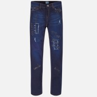 MAYORAL super dark denim long trousers 7503-46