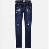 MAYORAL Junior Girls Denim Jeans Skinny 7538-17