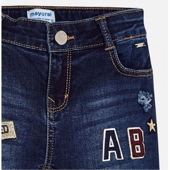 MAYORAL Junior Girls Denim Jeans Skinny 7538-17