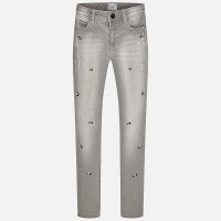 MAYORAL Junior Girls Grey Jeans Skinny 7535-32