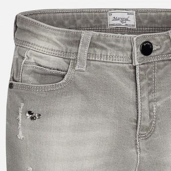 MAYORAL Junior Girls Grey Jeans Skinny 7535-32