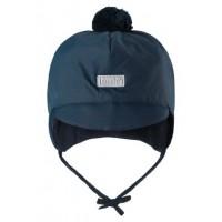 Lassie baby warm hat dark blue 718721-6960