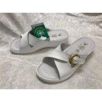 Sanital Light white anatomical sandals