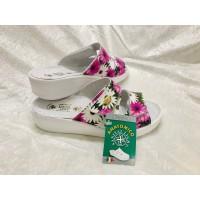 Sanital Light floral anatomical sandals