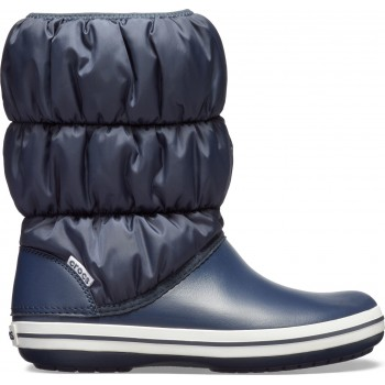 Crocs™ Winter Puff Boot Navy/White 14614-462