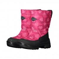 KUOMA Putkivarsi pink heart winterboots 1203-3753