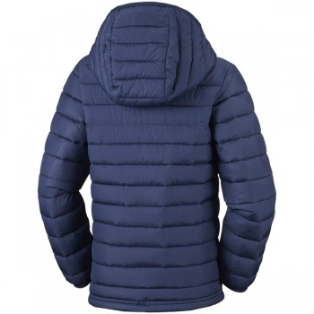 COLUMBIA Powder Lite™ Boys Hooded Jacket synthetic down 150g EB0013-464