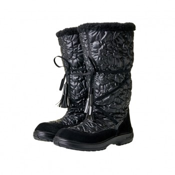 KUOMA Glamour black winterboots 140603-03