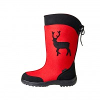 KUOMA Runo red winterboots 1503-04