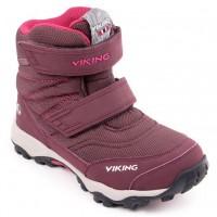 Viking BIFROST III aubergine/fuchsia GORE-TEX winterboots 3-85650-8317