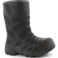 VIKING ULTRA black/grey with warm lining thermo rubberboots 5-25100-203