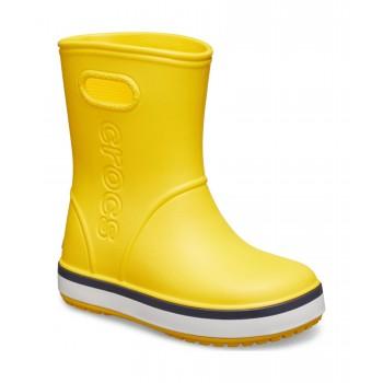 Crocs™ CROCBAND RAIN BOOT KID'S Yellow/Navy 205827-734