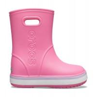 Crocs™ CROCBAND RAIN BOOT KID'S Pink Lemonade/Lavender 205827-6QM