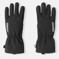 REIMA Tehden softshell gloves black 527361-9990